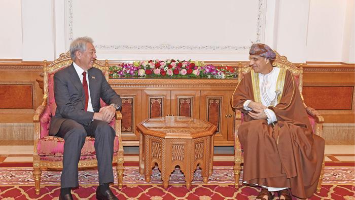 Sayyid Fahd hails Oman-Singapore ties
