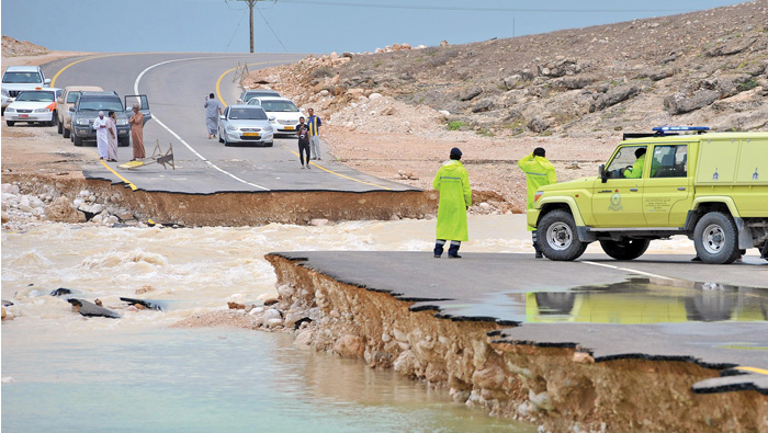 Luban weakens but heavy rain forecast for Dhofar