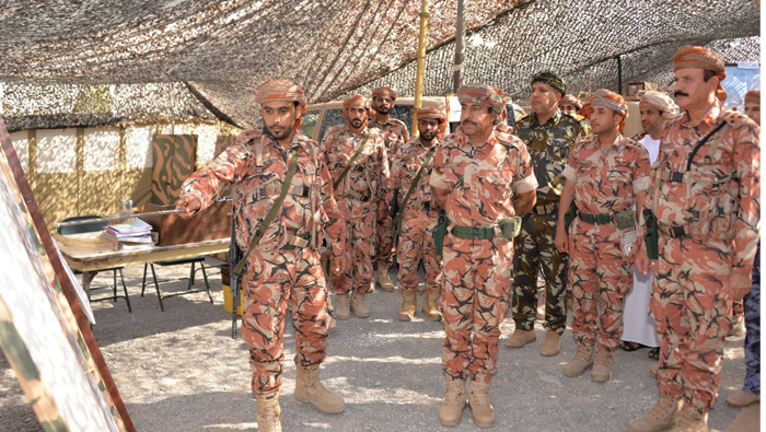 Military exercises at Musandam centre continue