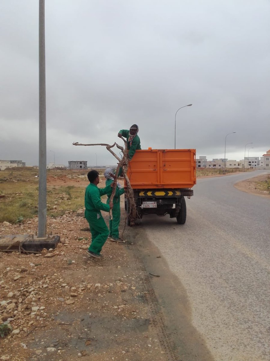 In pictures: Clean up begins in Salalah after Luban