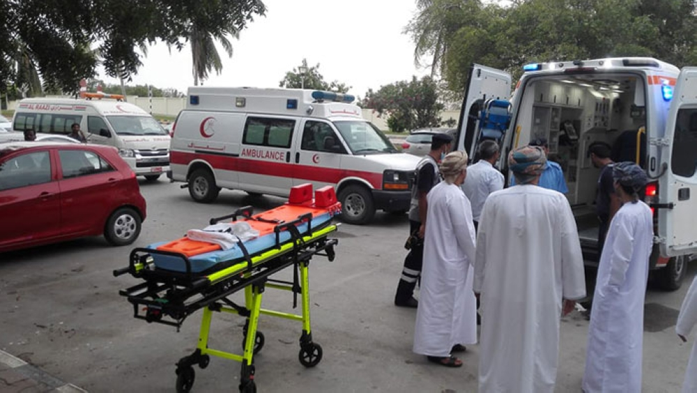 Ambulance driver dies on duty
