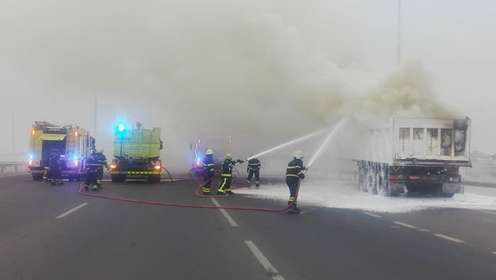 Civil Defence douses fire in Oman
