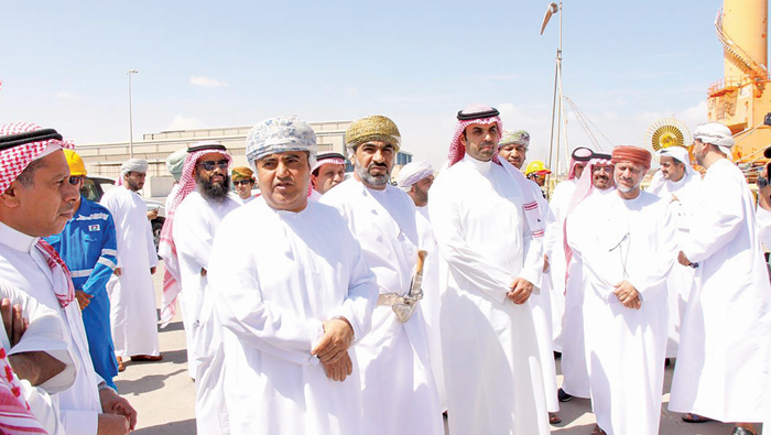 Saudi delegation visits Duqm, reviews trade opportunities
