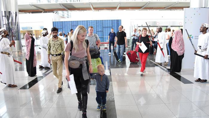 Salalah receives Russian tourists