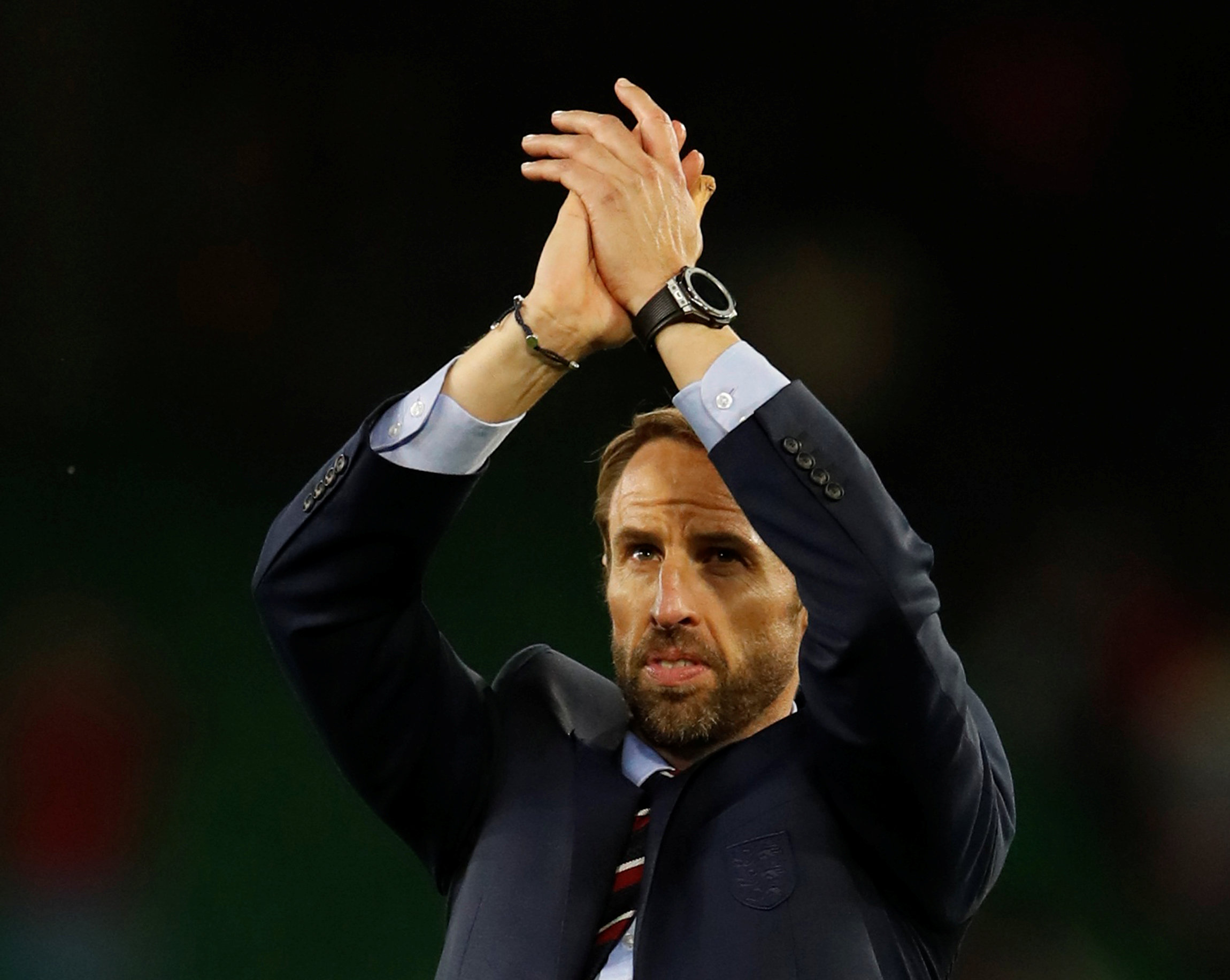 Football: England showed courage against Spain says Southgate