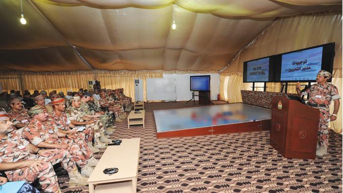 Omani-British joint military drill begins