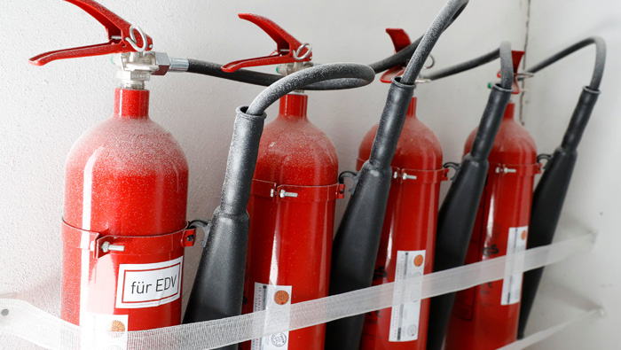 Instal fire extinguishers, smoke alarms to prevent house fires