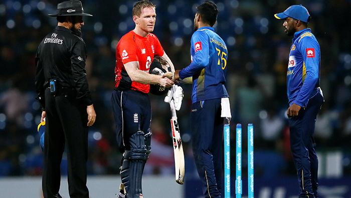 Cricket: Morgan, Rashid shine as England win rain-hit third ODI