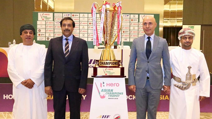 Hockey: Pakistan envoy joins in unveiling of Asian Champions Trophy