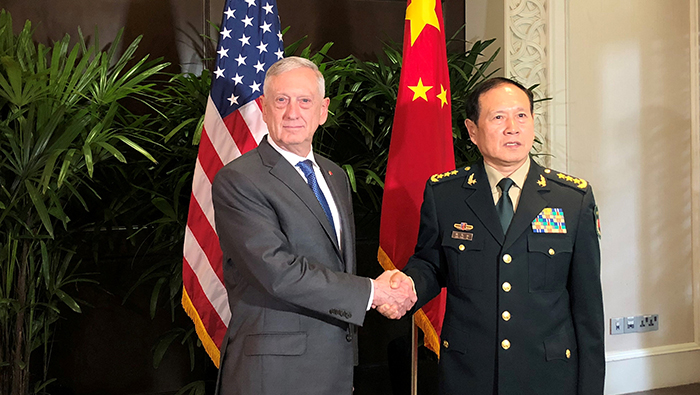 As tensions mount, Mattis seeks more resilient U.S. ties with China's military