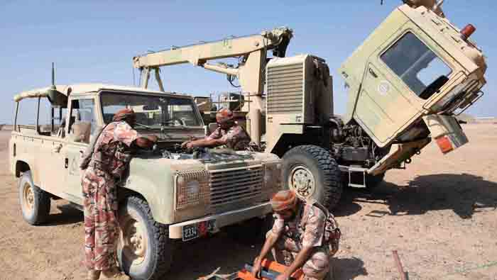 Commanders briefed on military drill