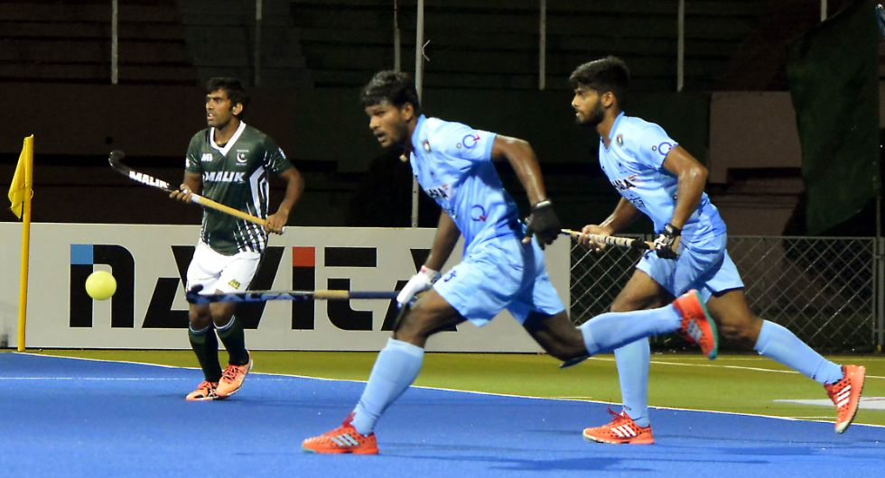 India beat rivals Pakistan 3-1 at Asian Champions Trophy in Oman