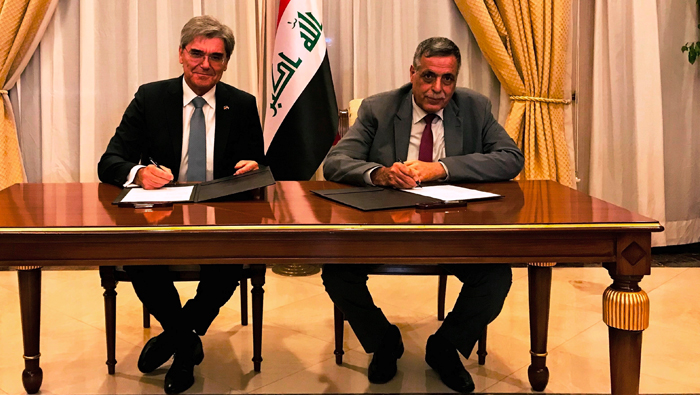 Siemens in landmark pact to repower Iraq