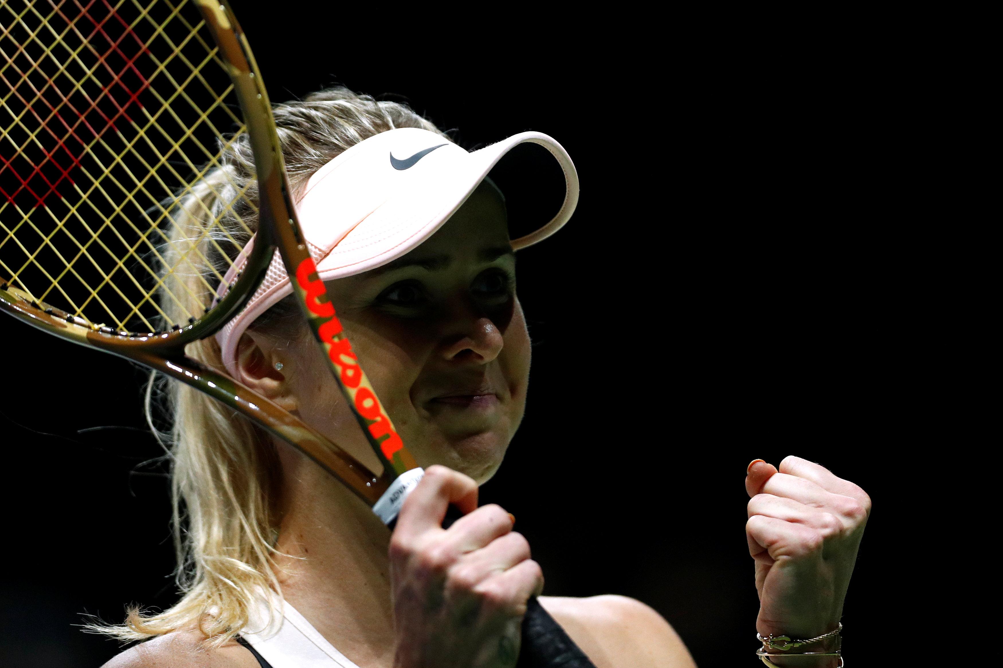 Tennis: Flawless Svitolina eases past Kvitova in Singapore