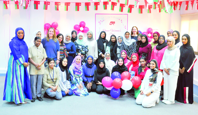 """مجموعة """"البرواني"""" تحتفل بيوم المرأة العمانية"""