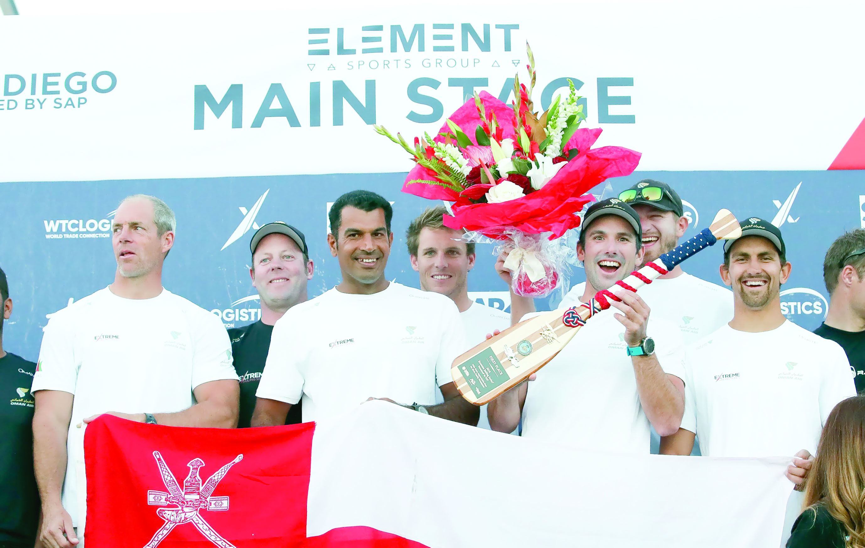 فريق «الطيران العُماني»يتوج بطلاً للجولة السادسة من منافسات الإكستريم الشراعية بسان دييجو