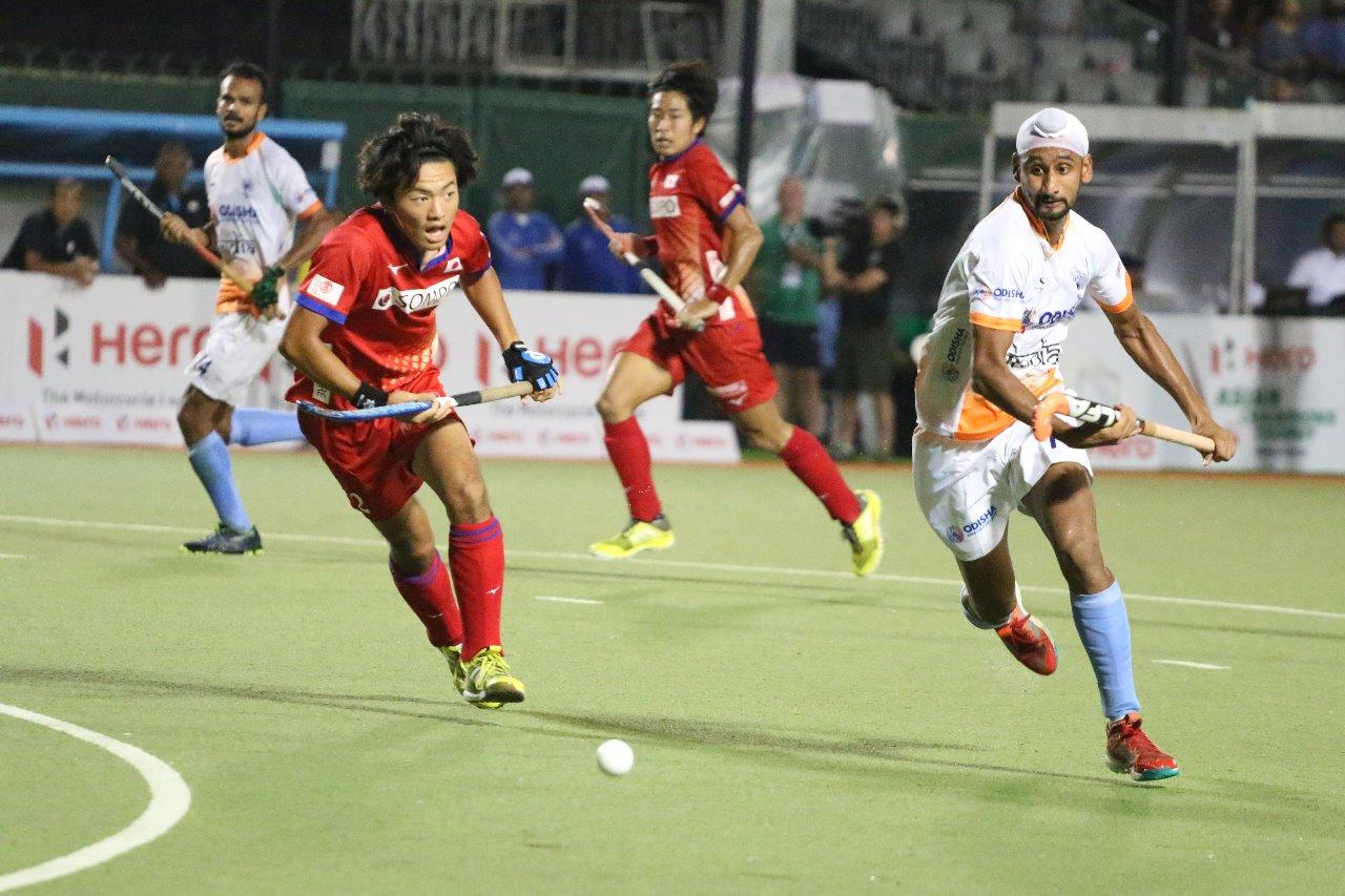 المنتخب الهندي يتغلب على الياباني ويتصدر النخبة الآسيوية للهوكي