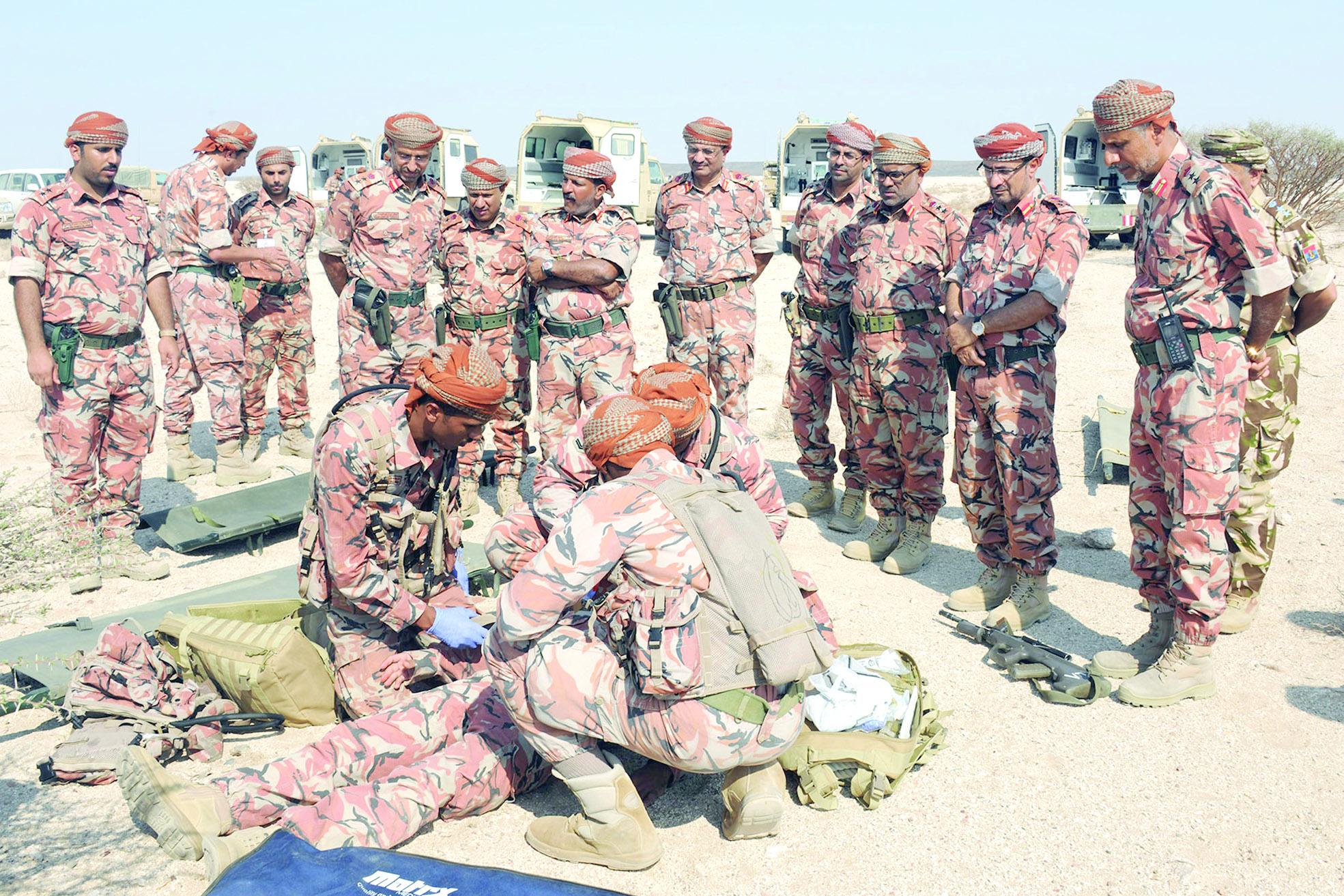 الكتيبة الطبية في تمرين السيف السريع تنفذ إخلاءً افتراضياً