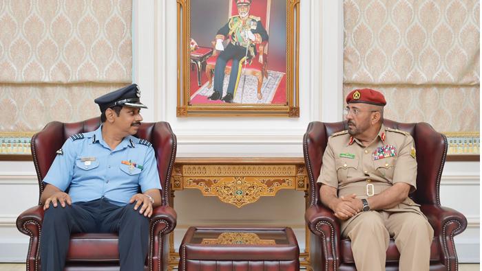 NDC commander receives Indian military delegation