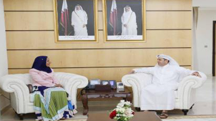 Madiha concludes two-day visit to Qatar