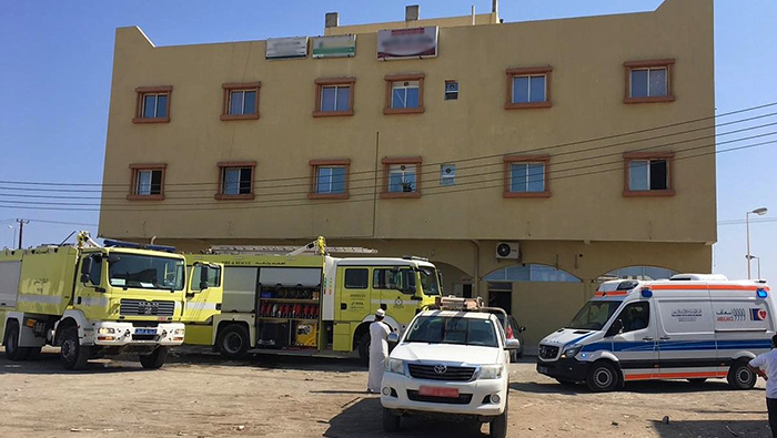 Two expat women rescued from office fire in Oman