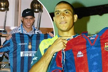 قبل المواجهة.. تعرف على الـ16 لاعبا الذين مثلوا برشلونة وإنتر ميلان