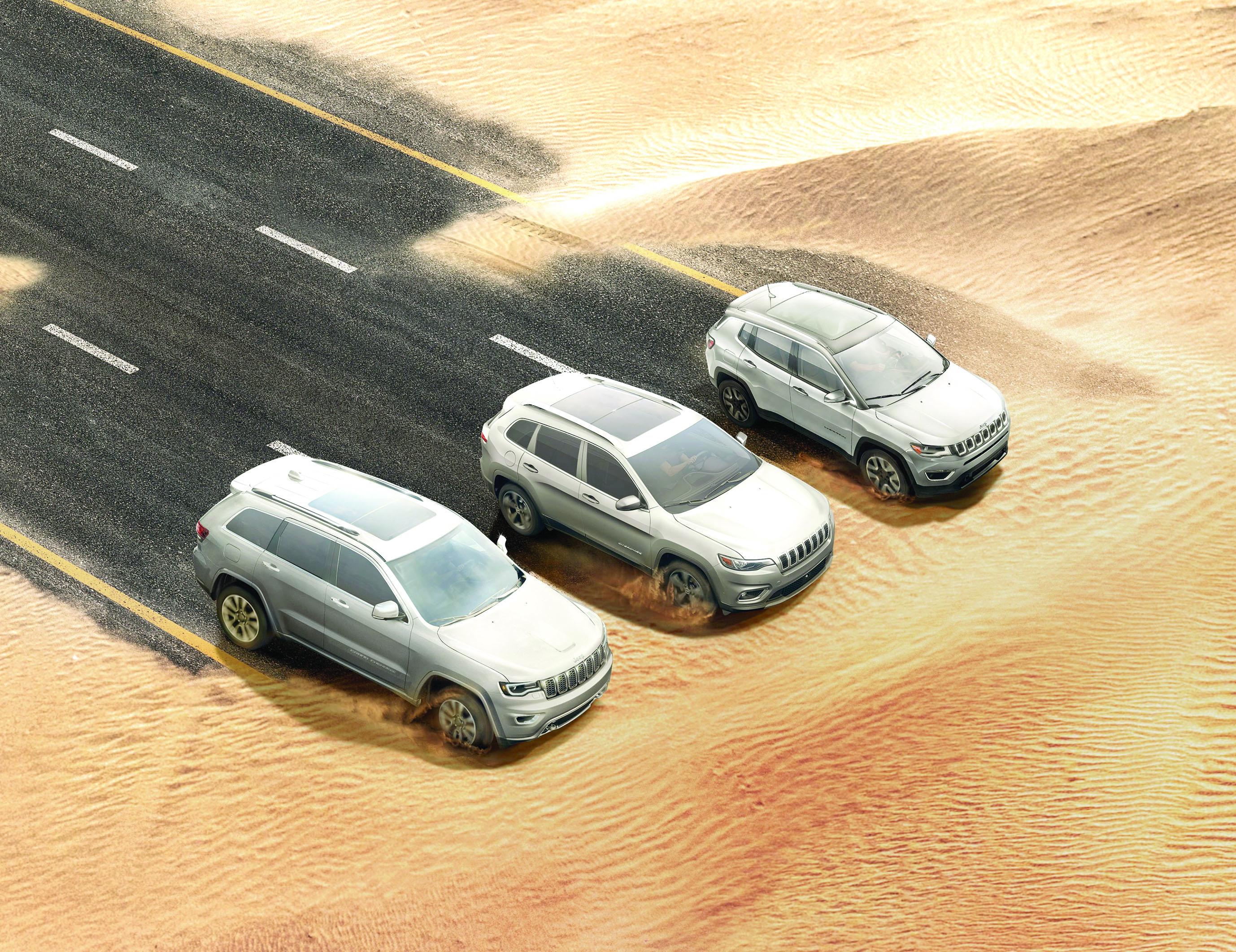 """على جيب """"كومباس"""" و""""شيروكي"""" و""""جراند شيروكي"""" ظفار للسيارات تقدم عروضاً جديدة"""