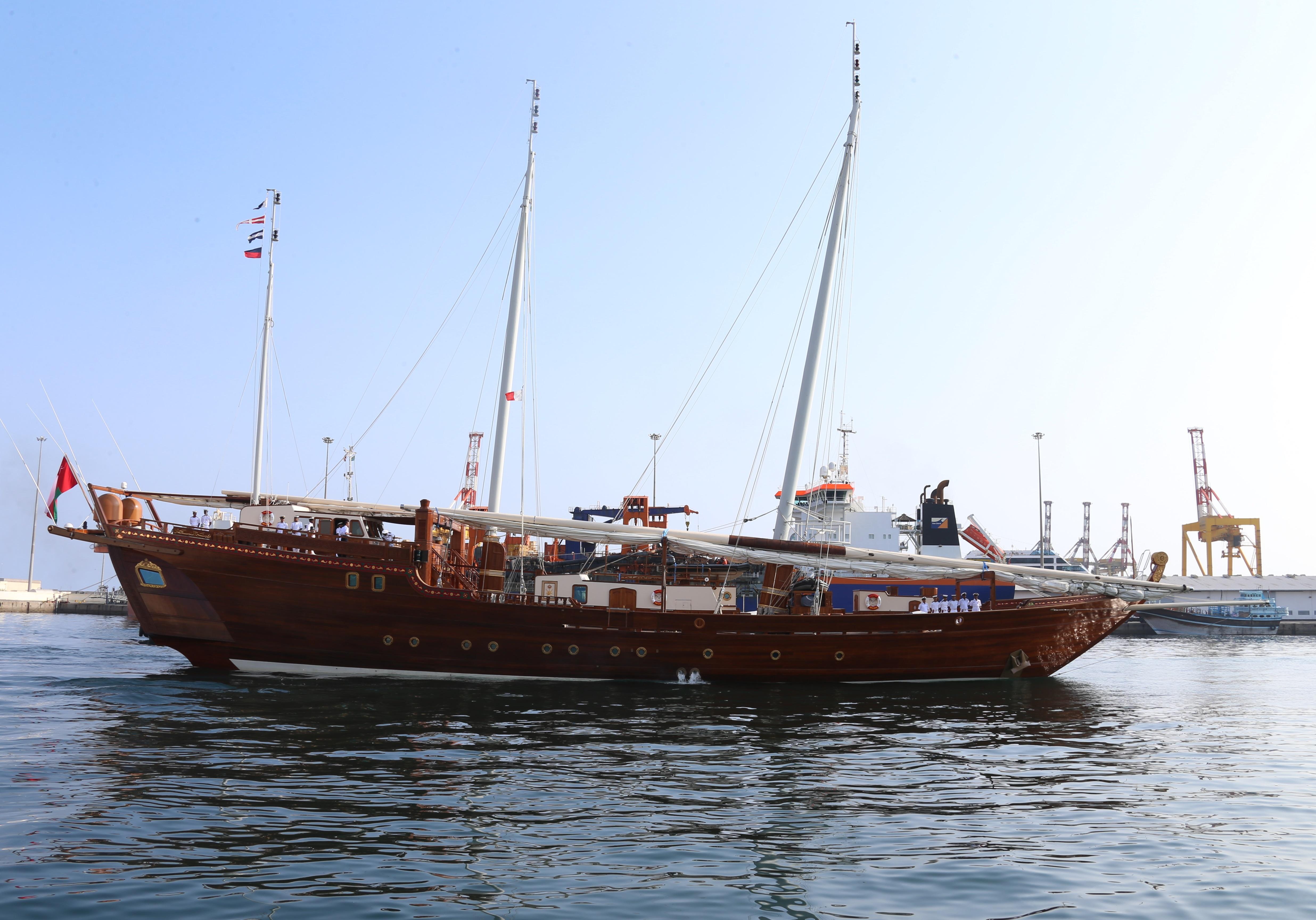بناءً على التوجيهات السامية.. زينة البحار تتجه إلى الهند