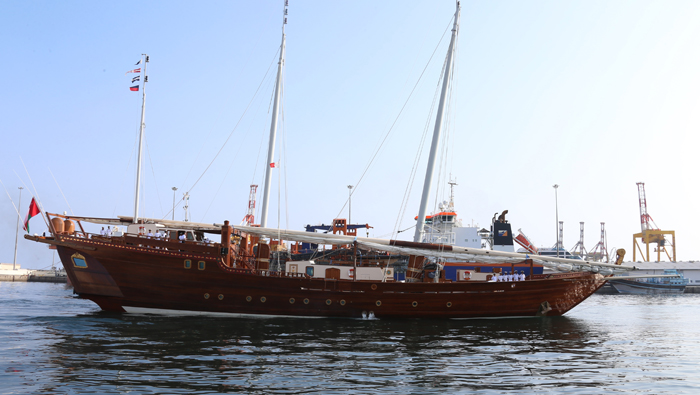 Royal Sail Yacht to take part in Indian Navy programme
