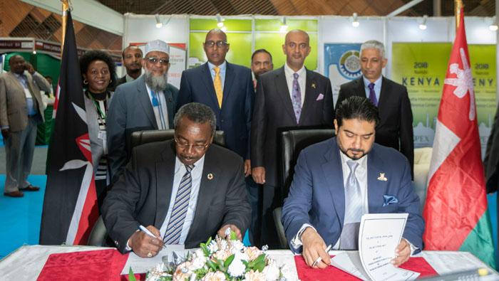 Oman, Kenya sign MoU to boost trade
