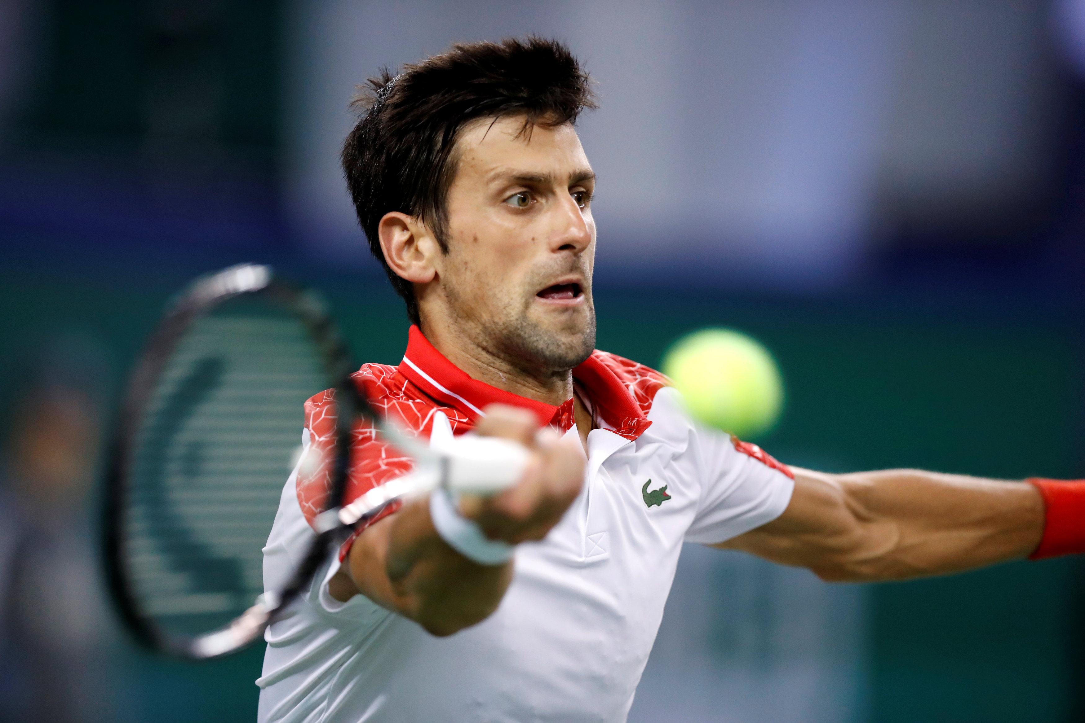 Tennis: Djokovic makes winning return in Shanghai