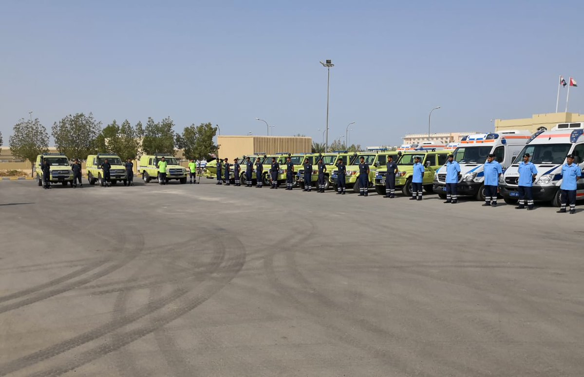 Gearing up for Luban - Dhofar first responders ready