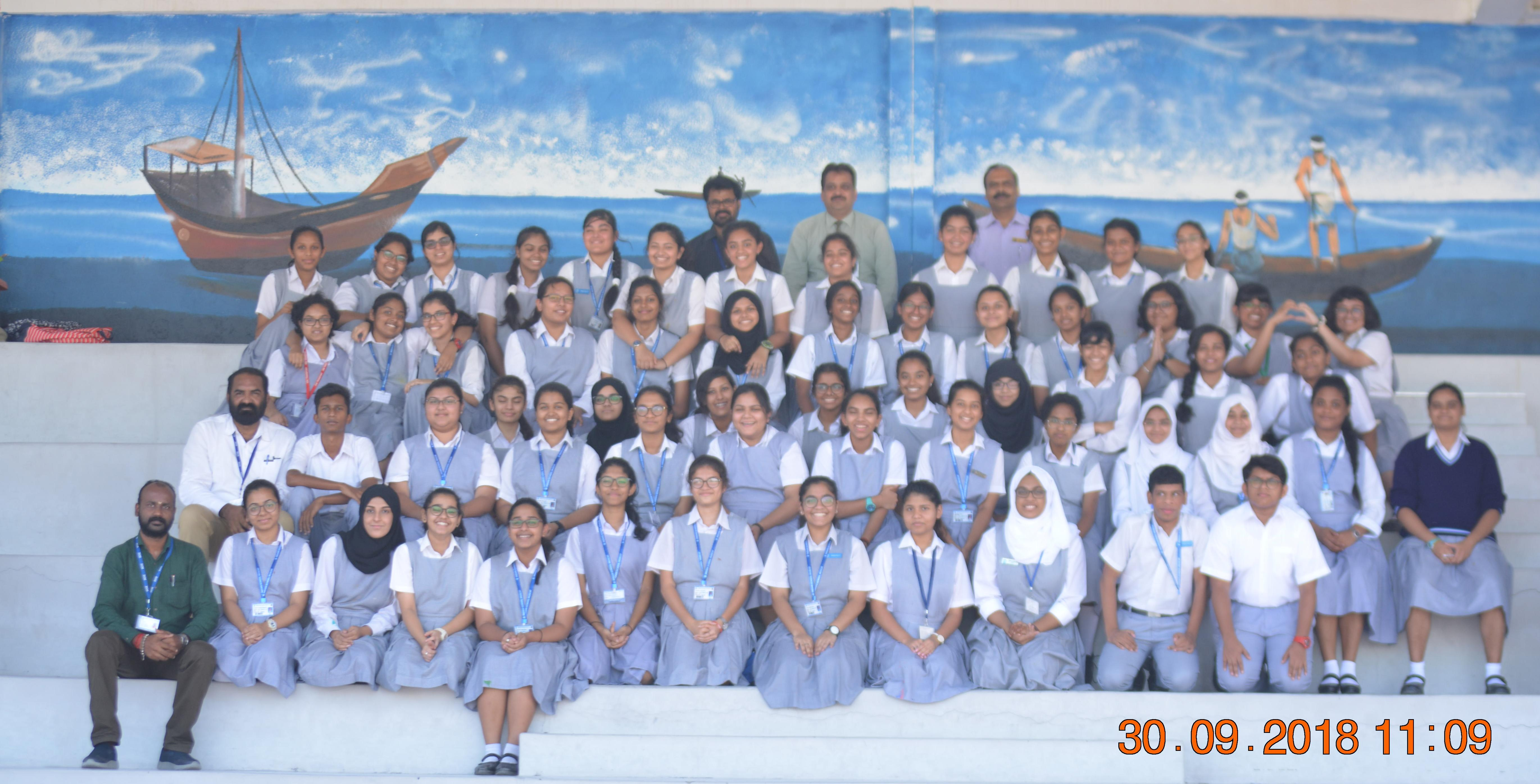 Indian School Muscat's walls turn into panorama of artistic expression overnight
