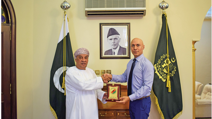 Pakistan ambassador, OHA chief discuss Asian Champions Trophy