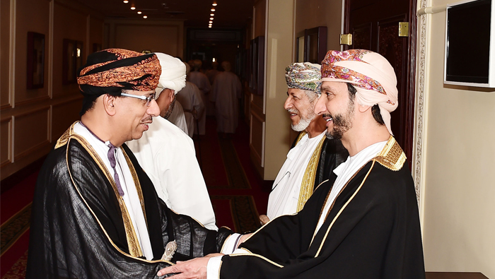 Governor of Muscat hosts reception on 48th National Day