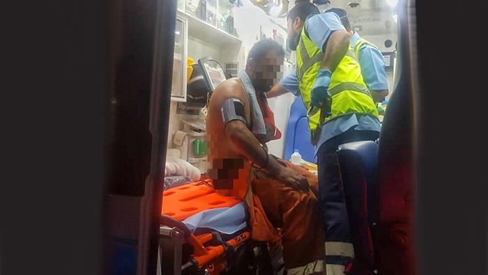 Expat injured at port in Oman