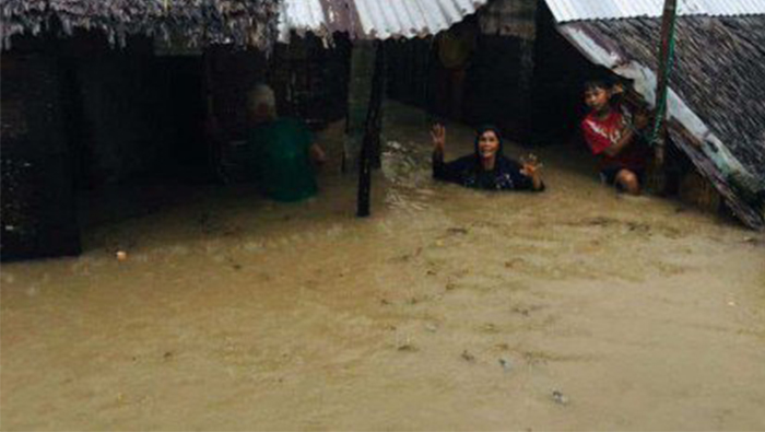One dead as tropical depression batters the Philippines