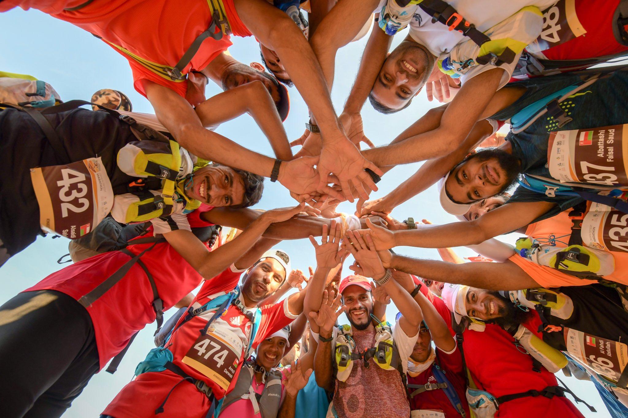 Here's who won the 6th Oman Desert Marathon