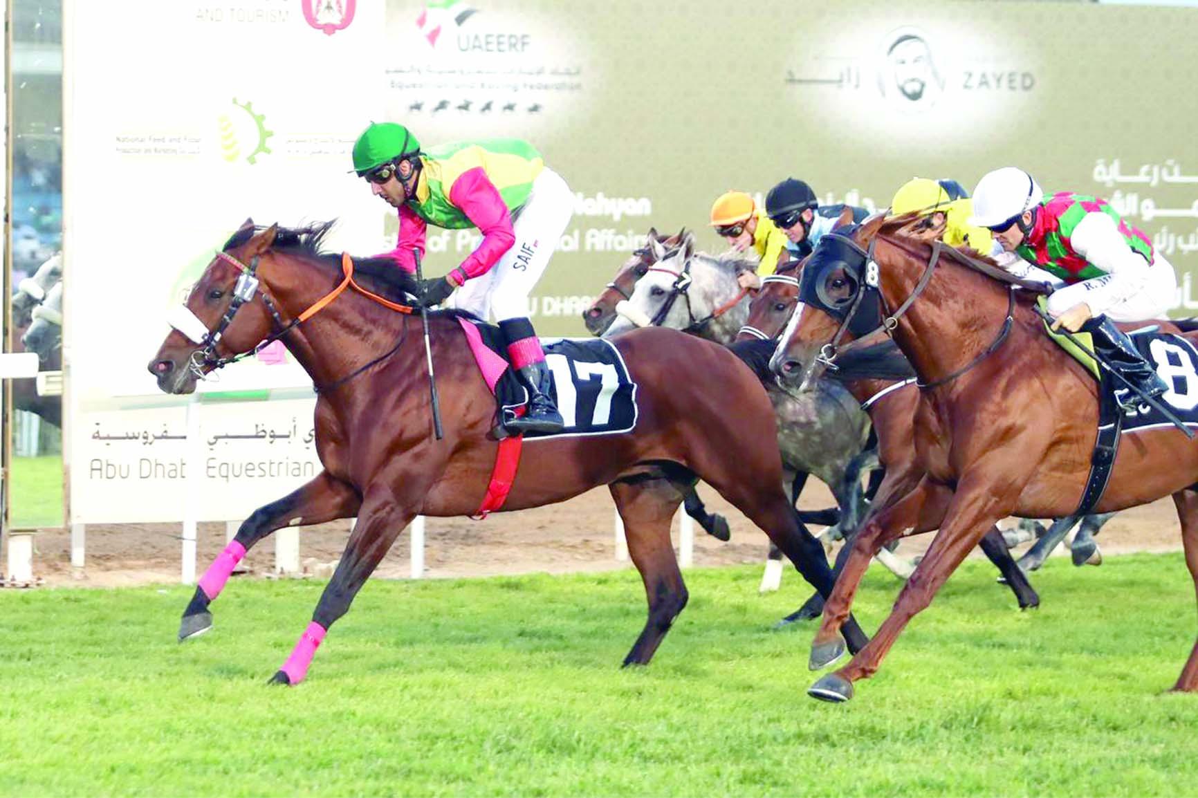 «دوك دي فوست» للخيالة السلطانية يفوز بالمركز الأول بأبوظبي