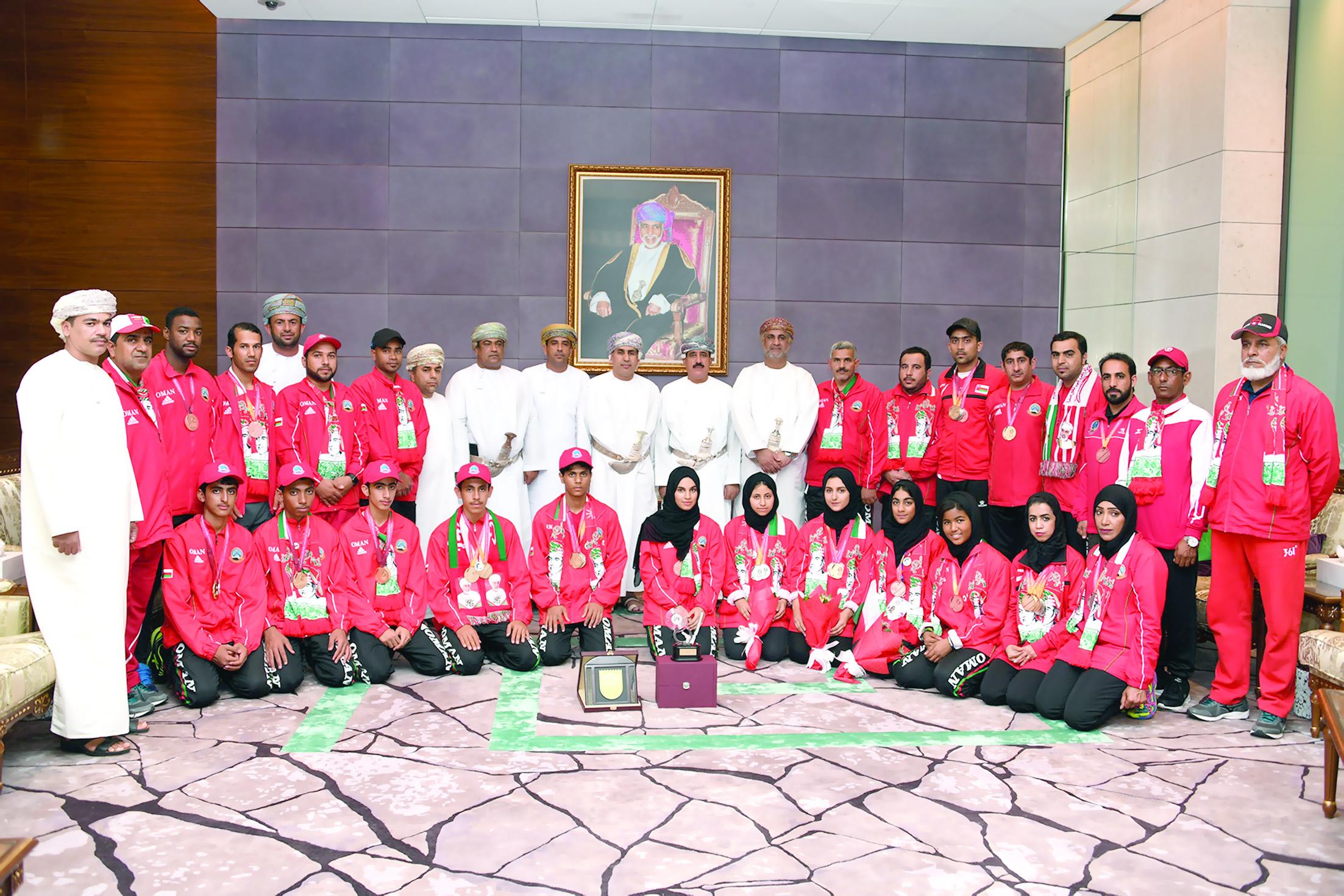 حقق خلالها «44»ميدالية ملونة الفريق الوطني للرماية ثانياً في البطولة العربية بقطر