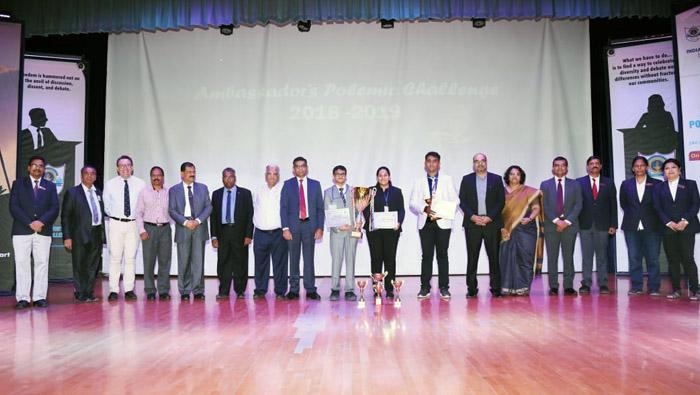 Indian School Wadi Kabir hosts inter school debate