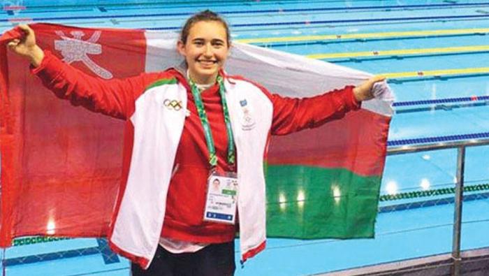 Representing Oman proudest moment for swimmer Lara Al Yafei