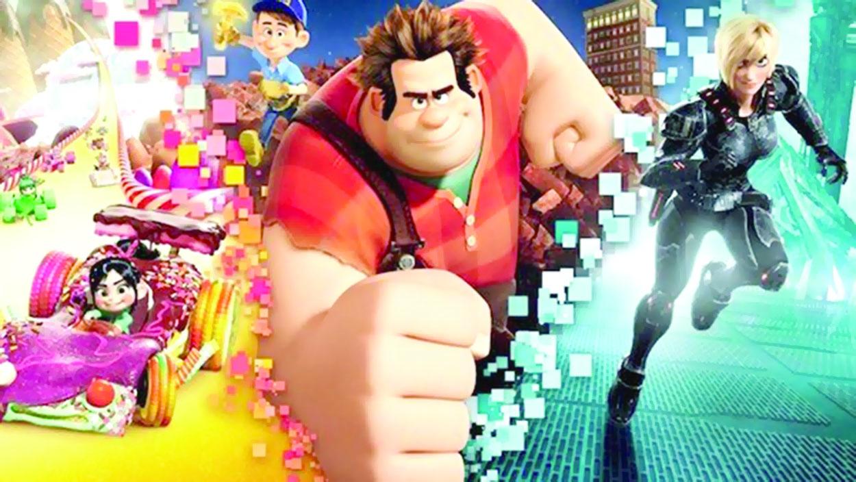 للأسبوع الثالث على التوالي «رالف بريكس ذا إنترنت» يتصدر إيرادات السينما الأمريكية