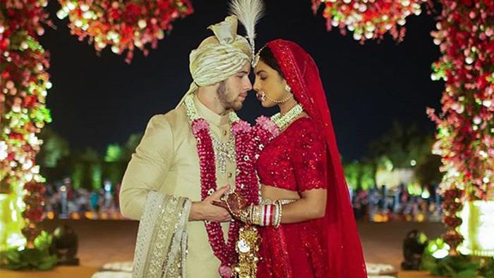 Indian actress Priyanka Chopra and American singer Nick Jonas wed in lavish ceremony
