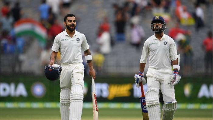Kohli leads Indian fightback in Perth