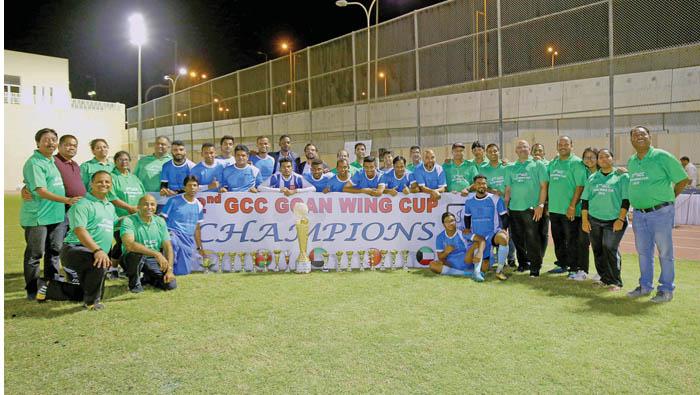 FC Siolim wins GCC Goan wing tournament