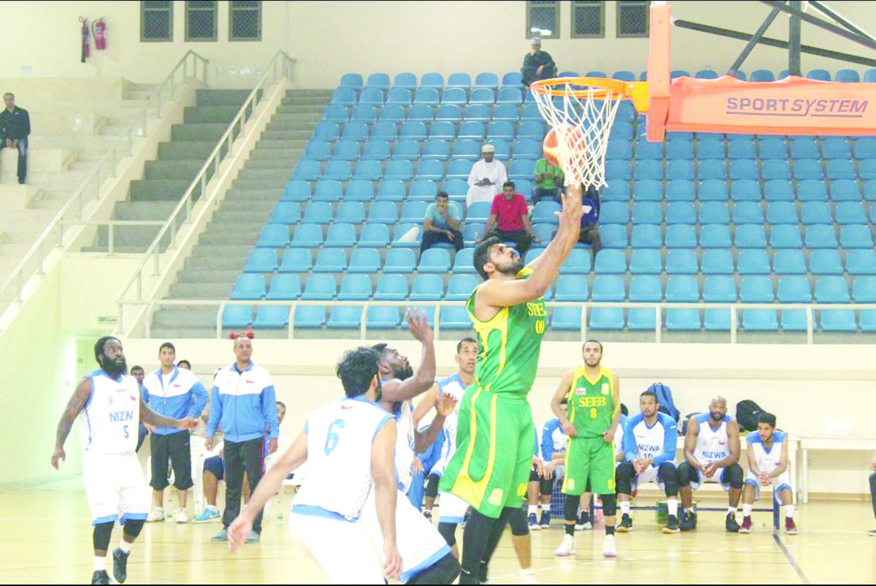 ثلاث مباريات في الأسبوع الثالث              من دوري عام السلطنة لكرة السلة