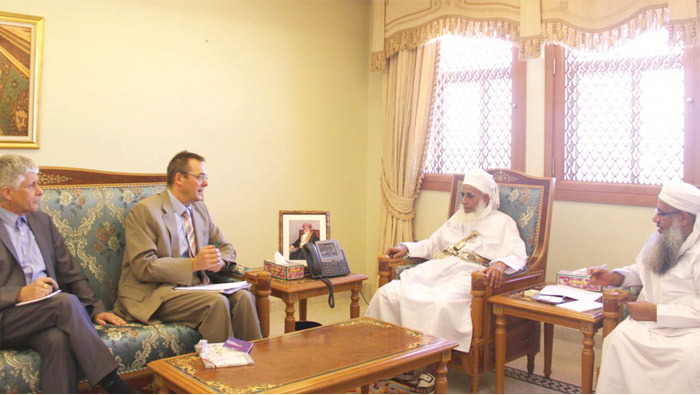 Oman's Grand Mufti, Swiss Bishops' body official stress justice, peace