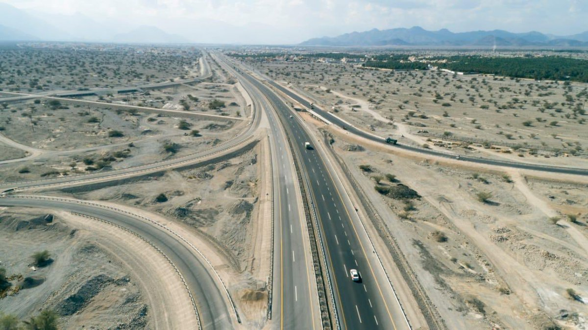 Oman transport: New road project inaugurated