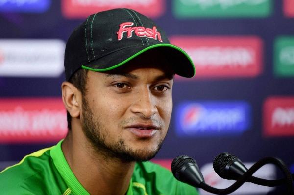 Cricket: Bangladesh's Shakib fined for shouting at umpire